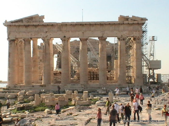 Ancient Athens Ruins Like The Parthenon Amp Erectheion Fight