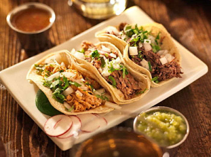 Mexican food comida mexicana can be street food or for Authentic mexican cuisine
