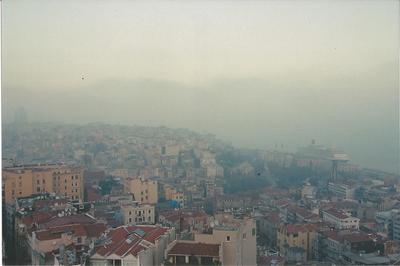 Istanbul at sunset from Galata Tower
