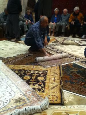 Another day of selling carpets - Istanbul